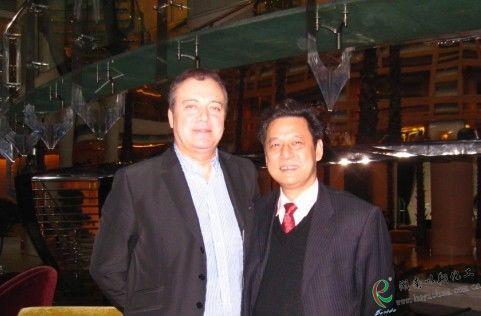 意大利客户与以翔化工商谈2010年市场合作