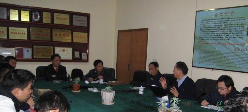 台湾客商施先生在分享BIPB应用技术